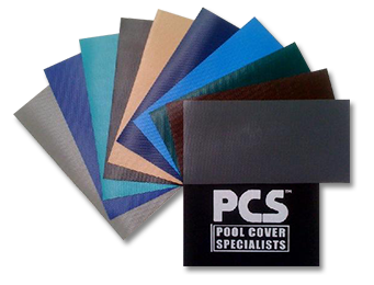 Pool Cover Specialists Fabric Swatches